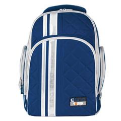 Рюкзак TIGER FAMILY (ТАЙГЕР) для средней школы, универсальный, темно-синий, 39х31х22 см, 19 л