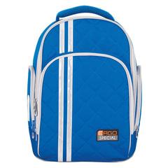 Рюкзак TIGER FAMILY (ТАЙГЕР), 19 л, с ортопедической спинкой, для средней школы, универсальный, голубой, 39х31х22 см