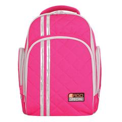 Рюкзак TIGER FAMILY (ТАЙГЕР), 19 л, с ортопедической спинкой, для средней школы, универсальный, розовый, 39х31х22 см