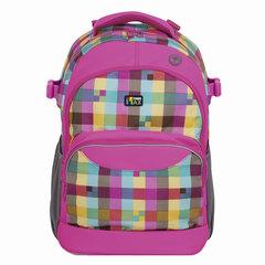 Рюкзак TIGER FAMILY (ТАЙГЕР) Дискавери, розовый/голубой, 23 л, 45х33х22 см