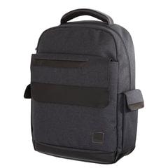 Рюкзак с отд.для ноутбука TIGER FAMILY (ТАЙГЕР), 22 литра, ЭКО-материал, серый, 44х32х14 см