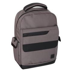 Рюкзак TIGER FAMILY (ТАЙГЕР) ЭКО-материал, коричневый, 22 л, 44х32х14 см