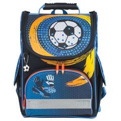 """Ранец жесткокаркасный TIGER FAMILY (ТАЙГЕР) для учеников начальной школы, """"Spinning Goal"""", 35х31х19 см, 13 литров"""