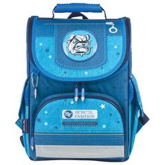 """Ранец жесткокаркасный TIGER FAMILY (ТАЙГЕР) для учеников начальной школы, """"Cool Dog"""", 35х31х19 см, 13 литров"""