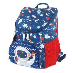 Рюкзак TIGER FAMILY (ТАЙГЕР) для дошкольников, синий, мальчик, Астронавт, 31х24х16 см